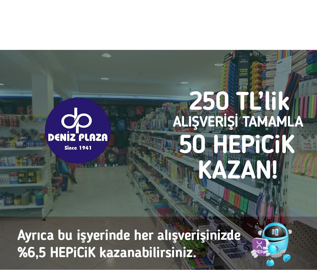 250 TL'lik alışverişi tamamla 50 TL HEPiCiK kazan!