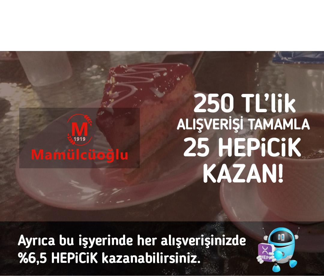 250 TL'lik alışverişi tamamla 25 TL HEPiCiK kazan!