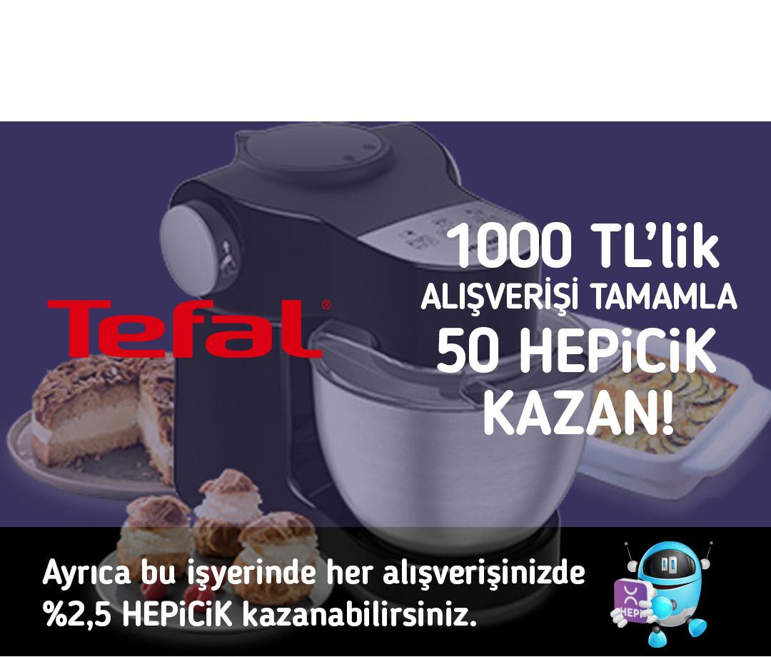 1000 TL'lik alışverişi tamamla 50 TL HEPiCiK kazan!