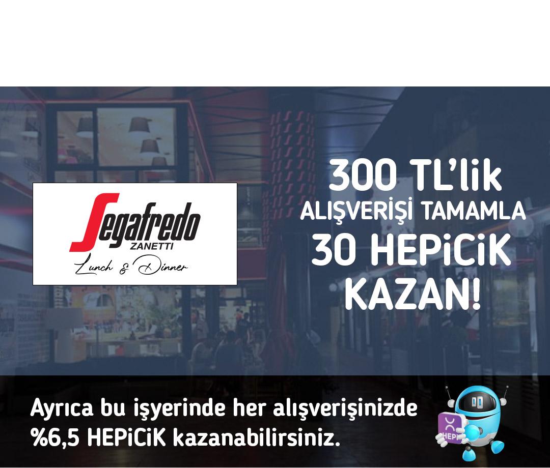 300 TL'lik alışverişi tamamla 30 TL HEPiCiK kazan!