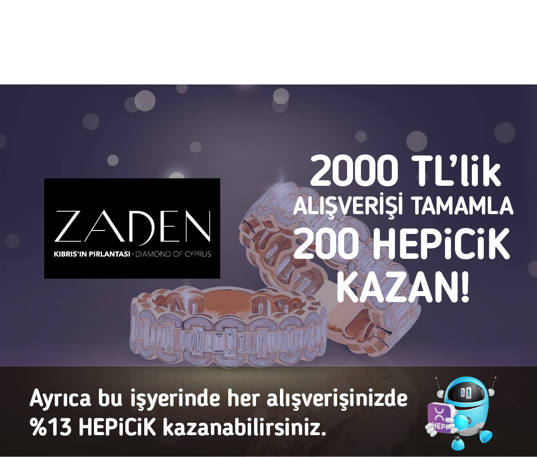 2000 TL'lik alışverişi tamamla 200 TL HEPiCiK kazan!